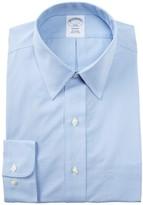 Brooks Small Check Trim Fit Dress Shirt