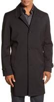 Michael Kors Men's Trim Fit Waterproof Overcoat