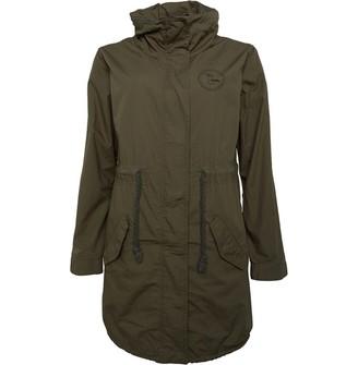 Animal Womens Parka Jacket Green