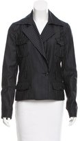 Christian Dior Wool Pinstripe Jacket