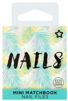 Superdrug Tropical Matchbox Nail Files