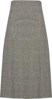 Raey Prince of Wales-checked wool kilt