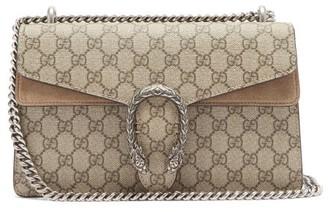 Gucci Dionysus Small Gg Supreme-canvas Shoulder Bag - Grey Multi