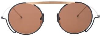 Thom Browne Eyewear Round Frame Sunglasses