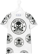 Philipp Plein SS Willpower T-shirt - kids - Cotton - 6 yrs