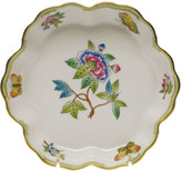 Herend Queen Victoria Green Fruit Bowl