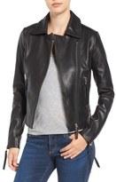 Rudsak Asymmetrical Leather Jacket
