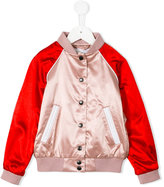 Burberry buttoned bomber jacket