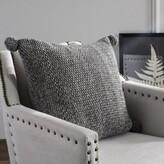 Mellina Knit Cotton Throw Pillow Gracie Oaks