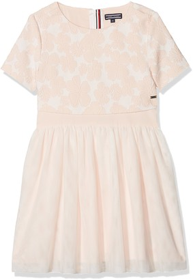 Tommy Hilfiger Girl's Eid Delightful Layered Tulle Dress S/s