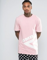 House of Holland x Umbro T-Shirt With Large Logo