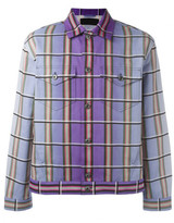 J.W.Anderson degrad' plaid jacket