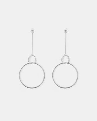 Ichu Chain Drop Hoops