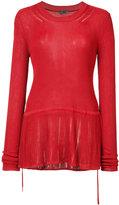 Maiyet knitted top - women - Viscose - XXXS