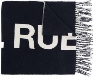 A.P.C. Angele logo scarf