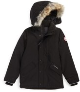 Canada Goose Kid's 'Logan' Down Parka With Genuine Coyote Fur Trim