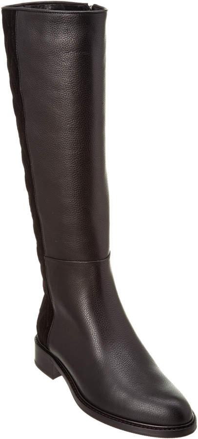 Aquatalia Giovanna Waterproof Pebbled Leather Boot