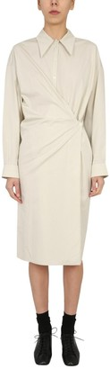 Lemaire Twisted Shirt Dress