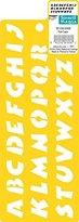 """Delta Creative Stencil Mania Stencil, 3 by 8-1/2-Inch, 979360308 3/4"""""""