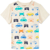 First Impressions Car-Print T-Shirt, Baby Boys (0-24 months), Only at Macy's