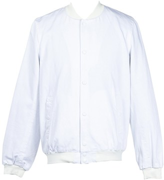 MAISON KITSUNÉ White Denim - Jeans Jackets