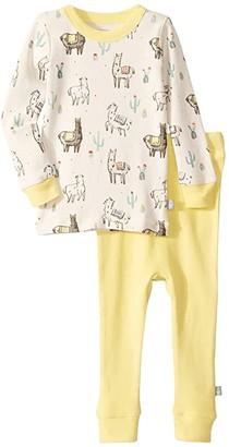 finn + emma Llama Pajamas (Infant/Toddler) (Llama) Kid's Pajama Sets