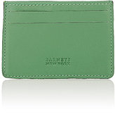 Barneys New York MEN'S CARD CASE-GREEN