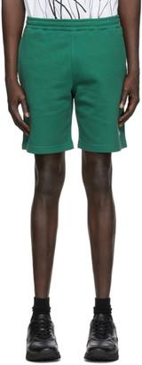 Kenzo Green Fleece Little X Shorts