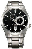 Orient ET0K002B Men's Cosmos Black Dial Stainless Steel Automatic Watch