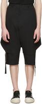 D.gnak By Kang.d Black Layered Shorts