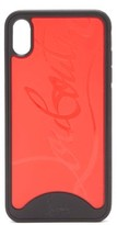 Thumbnail for your product : Christian Louboutin Loubiphone Sneakers Iphone X & Xs Phone Case - Black Red