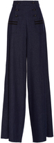 Anna Sui Denim Sailor Pants