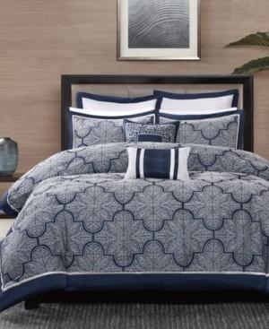 Madison Home USA Medina 8-Pc. Queen Comforter Set Bedding