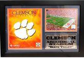 Clemson Tigers Photo Stat Frame