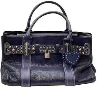 Luella Blue Leather Handbags