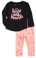 Under Armour Infant Girl's Leaps & Bounds Tee & Pants Set