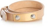Balenciaga Stud wrap-around leather bracelet
