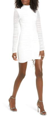 Tiger Mist Cologne Long Sleeve Body-Con Dress