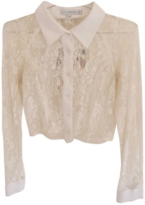 Finders Keepers White Lace Top for Women