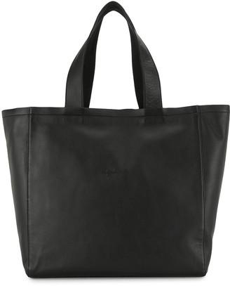 agnès b. Embroidered-Logo Tote Bag