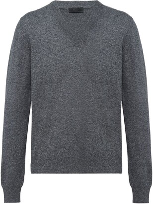 Prada V-neck cashmere jumper