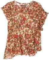 Isabel Marant Fliren Floral-print Gauze Top