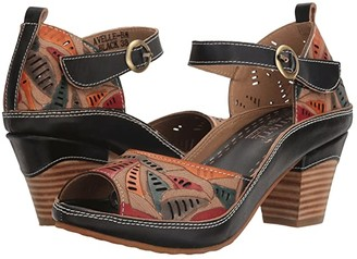 Spring Step L'Artiste by Avelle (Black Multi) Women's Shoes