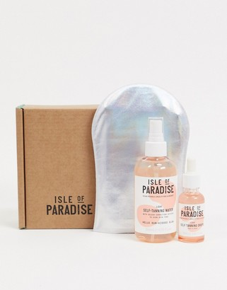 Isle of Paradise Self Tanning Drops & Water Set in Light SAVE 25%