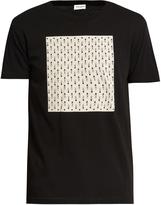 Saint Laurent Card-suit print cotton T-shirt