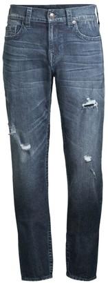True Religion Geno Straight-Leg Worn Jeans