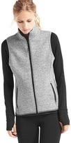 Gap Double-knit zip vest