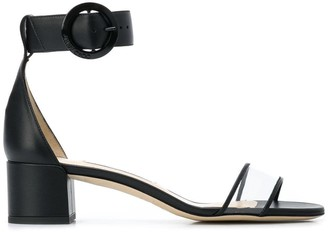 Jimmy Choo black Jaimie 40 flat sandals