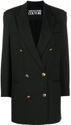 Versace Jeans Couture Double Breasted Coat