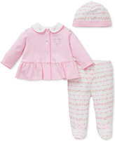 Little Me Baby Girls Rose Garden 3-Pc. Set